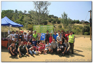 Foto final Let's Clean up Santa colomaLet's Clean up Santa coloma de 2014 (la Bastida)